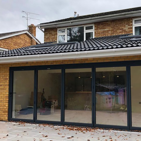 Home extension in Chelmsford Essex