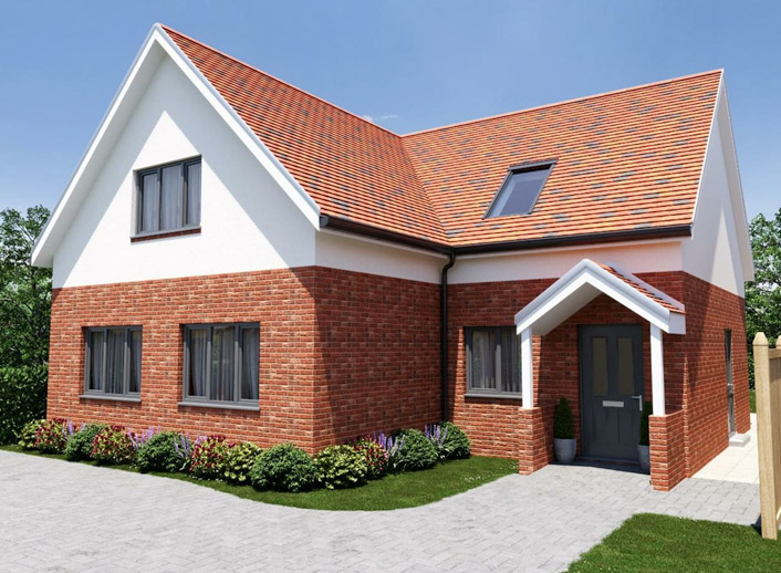 Takeley new build home
